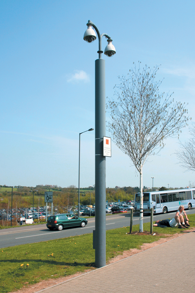 Tubular Fixed CCTV Poles | Altron | The Pinnacle Of Camera